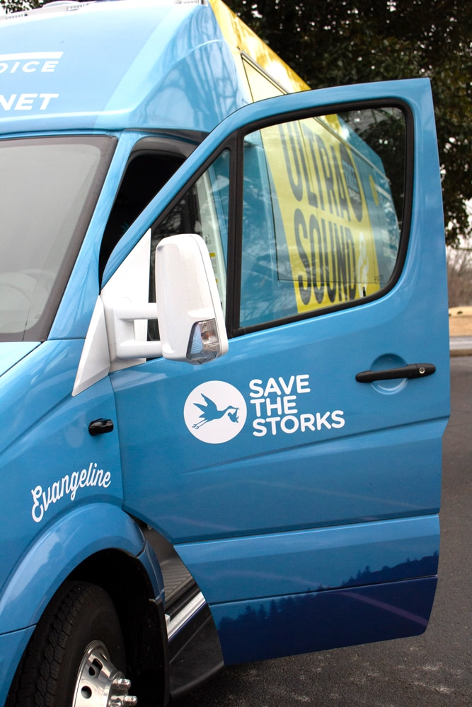 Birth Choice's Mobile Medical Unit by Save the Storks